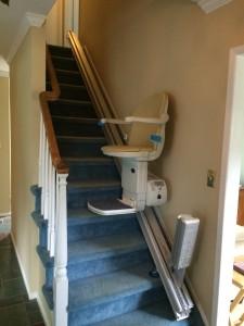 Handicare Long Island Stairlift